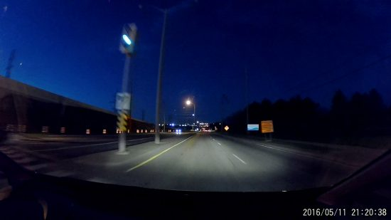 XiaoYi Yi - Mississauga Night Low Light Screenshot