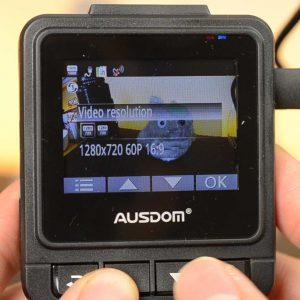 60 Frames Per Second in the Ausdom A261 Dash Camera