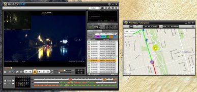 Blackvue's Player Software Visualizes Your Speed and Location