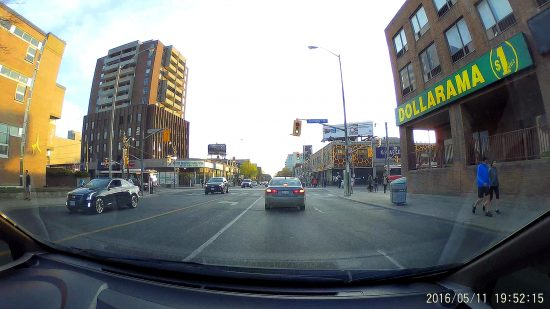 Yi Dash Cam - Comparing Field of View